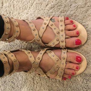 Sam Edelman flat gladiator sandals